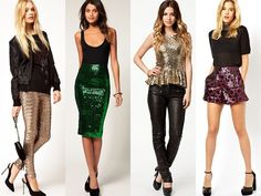 New Year Outfits for Women | Sequin Outfits for New Years