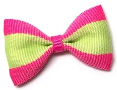 Skateboards Bow - Lime / Pink