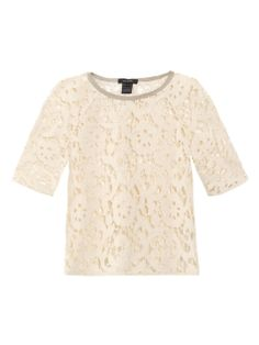 Tabata lace sweatshirt