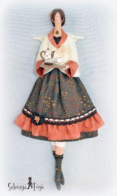 Коллекция кукольных фантазий: Может, чашечку кофе?...