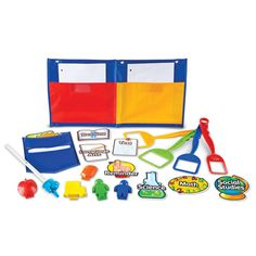 This Whiteboard Magnet Kit helps teachers stay organized and on task.