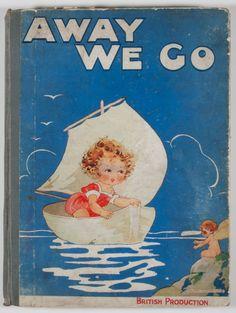 Vintage Book Cover, 1910, illus. Agnes Richardson