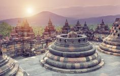 Borobudur, Java – Indonésia