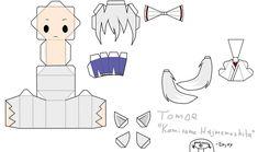 "That's Tomoe from the Anime/Manga ""Kamisama Hajimemashita"" Enjoy Mizuki [link] More coming soon! Tomoe, Kamisama Kiss, Paper Toys, Paper Crafts, Papercraft Anime, Paper Doll Template, Instruções Origami, Otaku Room, Anime Crafts"
