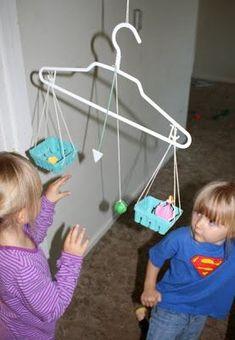 Evde terazi oyuncak yapımı