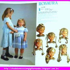 Chá de Bonecas com Gigi Fernandes: Boneca Rosaura, Jesmar, 1984