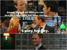 I play Hockey!