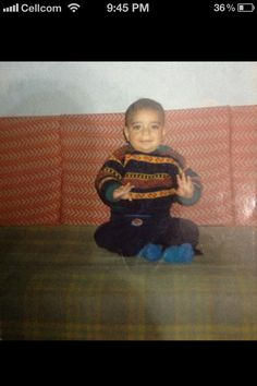 Me :) .... 2 years old
