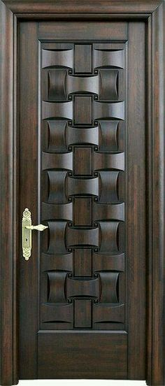 23 Ideas Wooden Main Door Design Beautiful For 2020 Wooden Main Door Design, Modern Wooden Doors, Modern Front Door, Wood Design, Double Door Design, Wooden Interior Doors, Gate Design, Design Design, Plafond Design