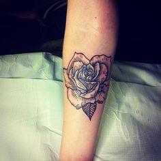 Thanks Hanna xxxxx #rose #rosetattoo #tattoo #flower #flowertattoo