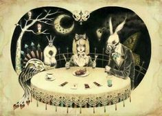 A dark tea party