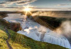 Gullfoss, Iceland - AARP's 9 Beautiful Waterfalls Around the World