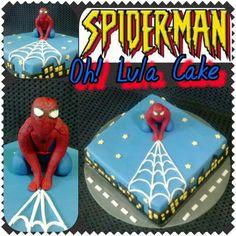 Spiderman cake. Tarta Spiderman.