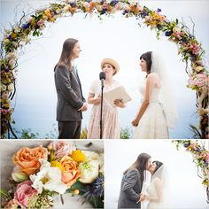 This wedding archway... There are no words so pretty