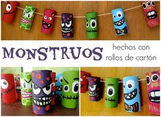 Df Ca Efbcb A C on halloween recycled bottle monster