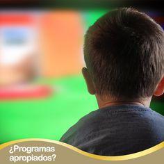 ¿Sabías que cuando un niño entre los 4 y 6 años ve programas que no son apropiados para su edad se puede afectar hasta en un 21% su desarrollo intelectual?