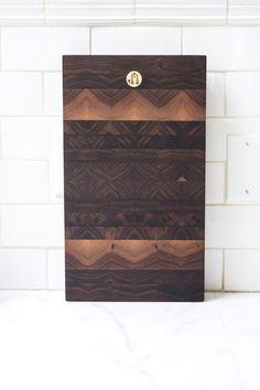 Black walnut cutting board by Jacob May