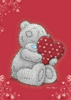 hearts n hugs pics Valentines Day Bears, Teddy Bear Pictures, Blue Nose Friends, Bear Illustration, Love Bear, Tatty Teddy, Cute Teddy Bears, Penny Black, Cute Creatures
