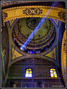 La Moschea di Mohamed Alì (interno) Cairo  Egypt. A beautiful mosque. I have great pics of the outside.