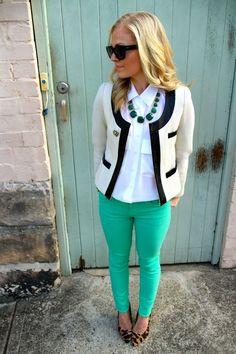 Glamour com Calças Coloridas | urban glamourous