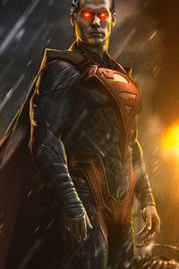Superman Injustice Wallpaper Batman Vs Superman, Arte Do Superman, Superman Henry Cavill, Black Superman, Superman Man Of Steel, Arte Dc Comics, Dc Comics Superheroes, Marvel Heroes, Wallpaper Do Superman