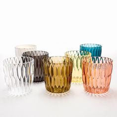 Jellies vase by Patricia Urquiola | Magic reflections and tactile effects by Kartell