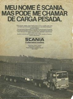 Anuncio do SCANIA LK 6X2