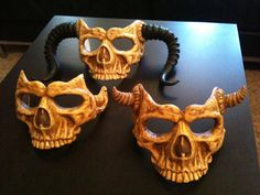 skull masks by oracle masks. Wow now I want to make a mask.