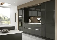 free kitchen design home visit maida gloss grey can create a modern look for any 577