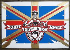 Riot here, new edition. Interactive Exhibition, Off The Wall, Carry On, Screen Printing, Travel Inspiration, Street Art, Carrie, Logos, Prints