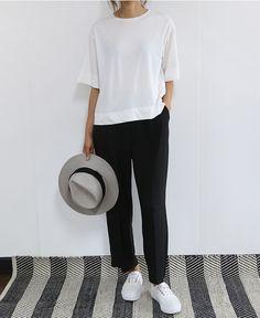 шляпа, летний минималистичный гардероб