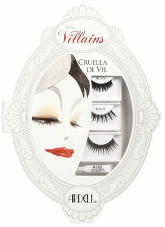Ardell Disney Villains False Lashes Collection for Halloween 2013