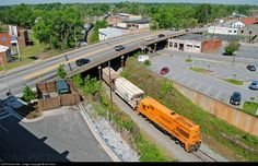 RailPictures.Net Photo: PICK 9504 Pickens Railroad GE U18B at Anderson, South Carolina by Ant Davis