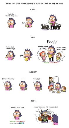 Comics And Cartoons  C B How To Grab Your Kids Attention In  Easy Step Read More Parenting Comics