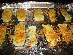 Monkey Meals: South Beach Diet Baked parmesan zucchini