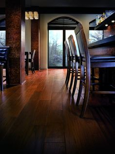 Exotic Hardwood Flooring from BR-111 - something about wood flooring thats soo warming