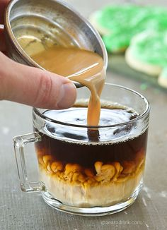 Home made coffee creamer. Avoid all the chemicals and make your own flavors!