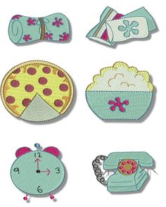 Free Embroidery Designs: Slumber Party