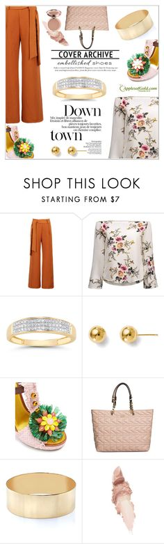 """Cover Archive: Embellished"" by applesofgoldjewelry ❤ liked on Polyvore featuring WithChic, Dolce&Gabbana, Karl Lagerfeld, Maybelline and Apples of Gold"