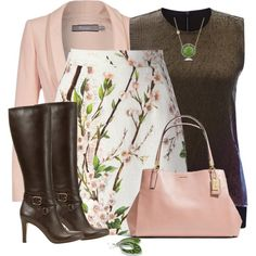 Possible Easter look, created by mommygerloff on Polyvore