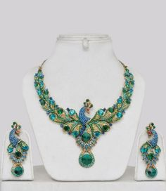 Peacock Jewelry Indian