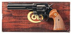 WONDERFUL COLT PYTHON IN .357 MAGNUM WITH 6 INCH RIBBED...