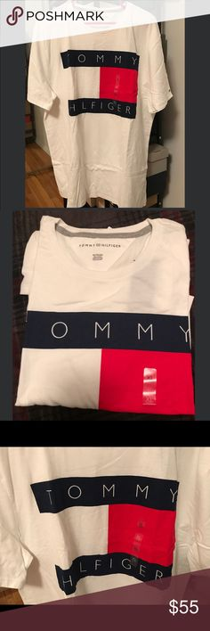 Tommy Hilfiger flag logo t-shirt. New This is new!  Man size XL Tommy Hilfiger Shirts Tees - Short Sleeve