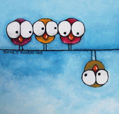 There's always one by Lucia Stewart | ArtWanted.com