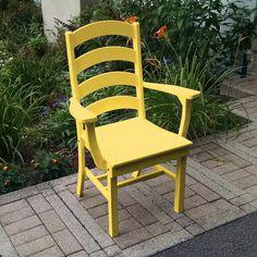 Outdoor A & L Furniture Ladderback Poly 3 Piece Square Patio Bistro Set - ALF317-5