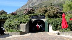 Haute Cabriere Restaurant - Franschhoek Valley, Winelands, close to Cape Town - nestled INTO the Mountain - what an experience!
