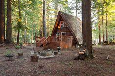 Redwoods A-Frame, Mendocino, California Submitted by Colby Larson