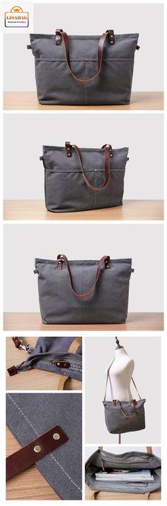Handmade Canvas Tote Bag Messenger Bag Shoulder Bag School Bag Handbag 14022