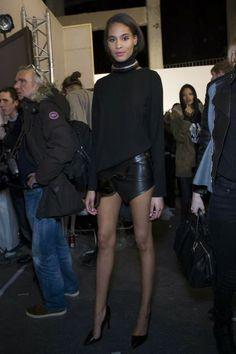 Mis Queridas Fashionistas: Backstage at Anthony Vaccarello Autumn Fall/Winter 2014 - Paris Fashion Week