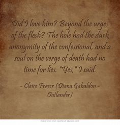 Favorite Outlander quotes